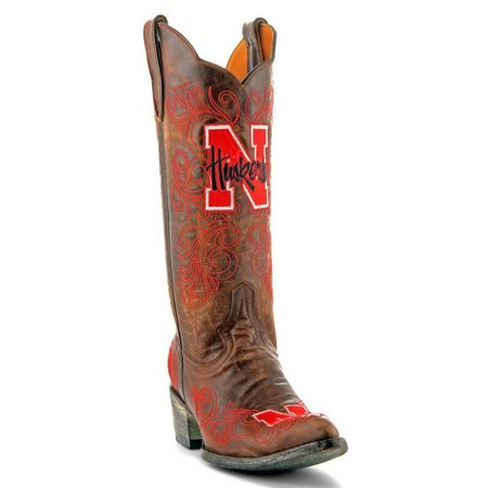 Gameday Nebraska Cornhuskers Womens Cowboy Boots
