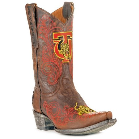 Gameday Tuskegee Tigers Womens Cowboy Boots