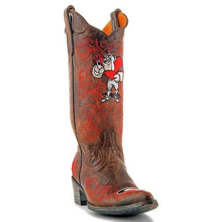 Gameday Georgia Bulldogs Womens Cowboy Boots