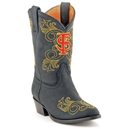 Gameday FSU Seminoles Girls Cowboy Boots
