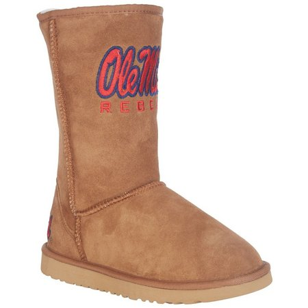 Gameday Boots Roadie Ole Miss Rebels Womens Boots