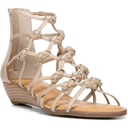 Fergalicious Womens Garnett Wedge Sandals