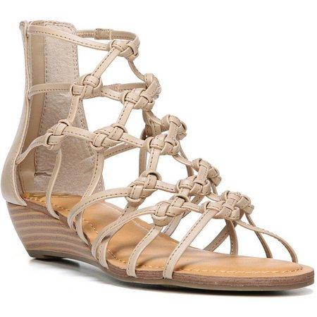 Fergalicious Womens Garnett Wedge Sandals
