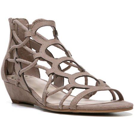 Fergalicious Womens Kayla Wedge Sandals