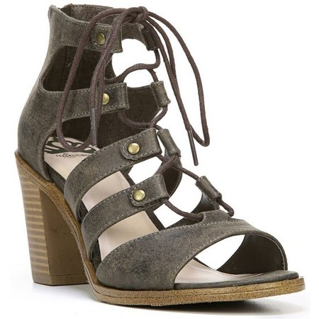 Fergalicious Womens Mambo Heeled Ghille Sandals