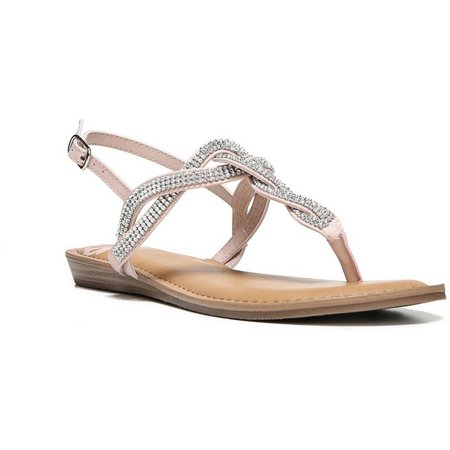 Fergalicious Womens Shade Jeweled Sandals