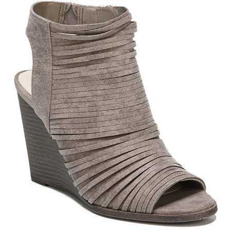 Fergalicious Womens Heather 2 Wedge Sandals