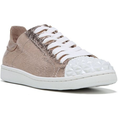 Fergie Womens Pyper Rose Gold Studded Shoes