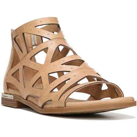 New! Fergie Womens Crazy Leather Sandals