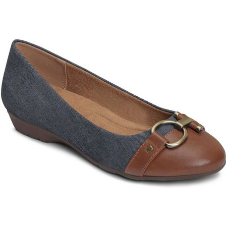A2 by Aerosoles Womens Ultrabrite Combo Flats