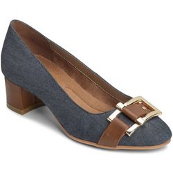 A2 by Aerosoles Womens Denim Sketch Pad Pumps