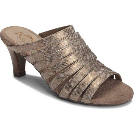 A2 by Aerosoles Womens Spowse Slide Sandal