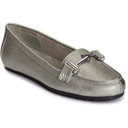 A2 by Aerosoles Womens Test Drive Metallic Loafer