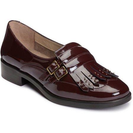 New! A2 by Aerosoles Womens Patent Ravishing Loafers