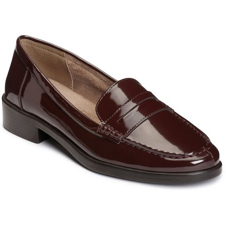 A2 by Aerosoles Womens Side Dish Patent Loafers
