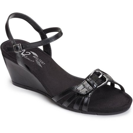 A2 by Aerosoles Womens Crumb Cake Wedge Sandals
