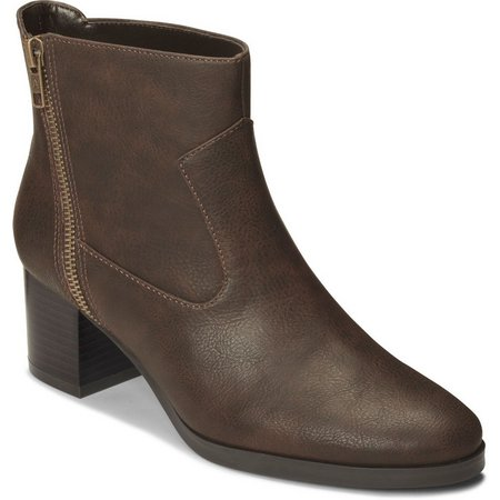 A2 by Aerosoles Womens Homeroom Ankle Boots