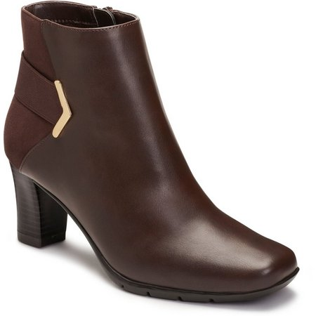 New! A2 by Aerosoles Womens Moneuver Ankle Boots