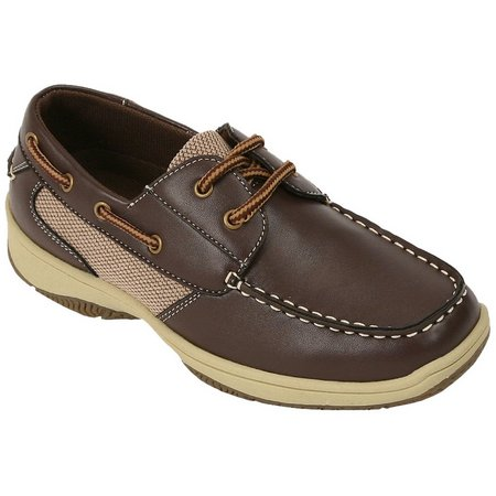 Deer Stags Boys Jay Boat Oxford Shoes