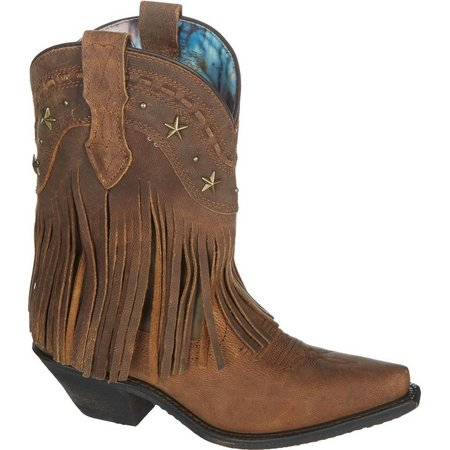Dingo Womens Hang Low Fringe Cowboy Boots