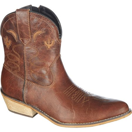 Dingo Womens Adobe Rose Cowboy Boots