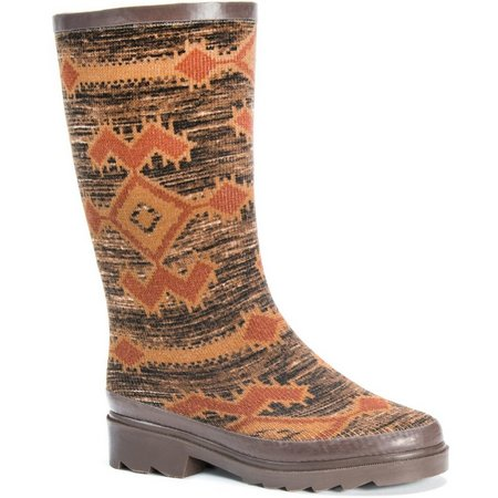 Muk Luks Womens Annabelle Rain Boots