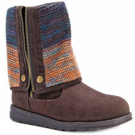 Muk Luks Womens Demi Boots
