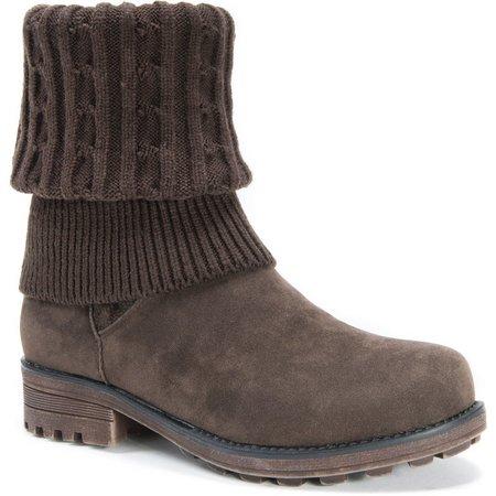 Muk Luks Womens Convertible Kelby Boots