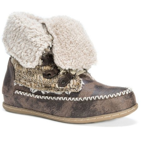 Muk Luks Womens Convertible Lilly Boots