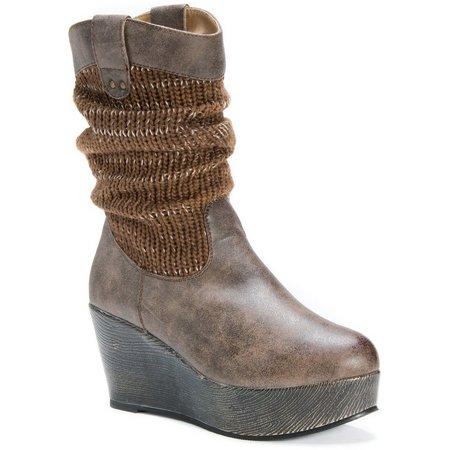 Muk Luks Womens Quinn Boots