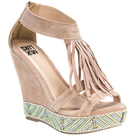 Muk Luks Womens Ciara Wedge Sandals