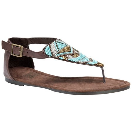 Muk Luks Womens Zena Sandals