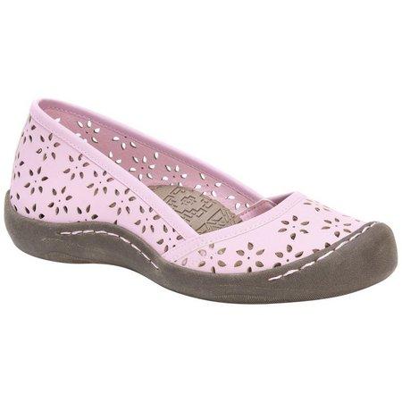 Muk Luks Womens Sandy Slip On Shoes