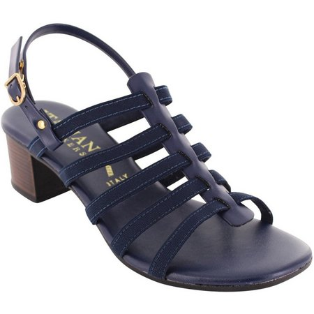Italian Shoemakers Womens Glowing Heeled Sandals