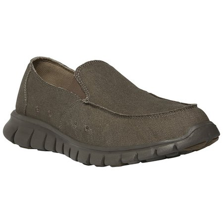 Propet Mens Mclean Canvas Slip-on Shoe