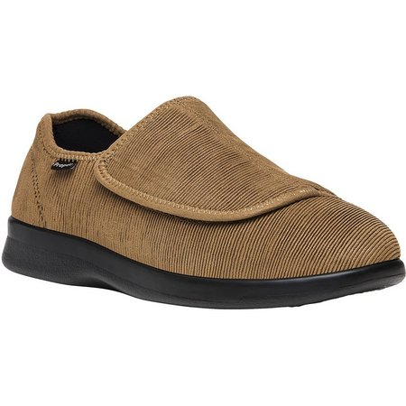 Propet USA Mens Cush N Foot Corduroy Slippers