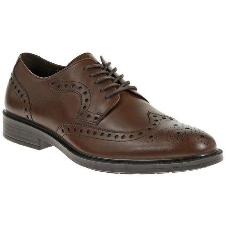 Hush Puppies Mens Isaac Banker Oxford Shoes