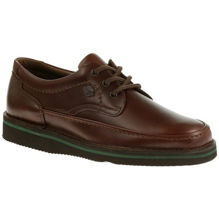 Hush Puppies Mens Mall Walker Leather Shoes
