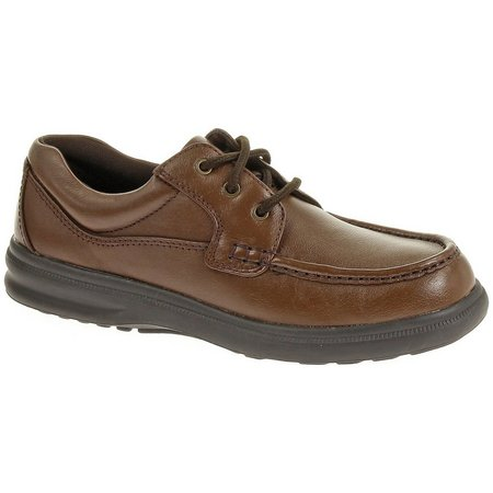 Hush Puppies Mens Gus Leather Shoes