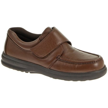 Hush Puppies Mens Gil Leather Shoes