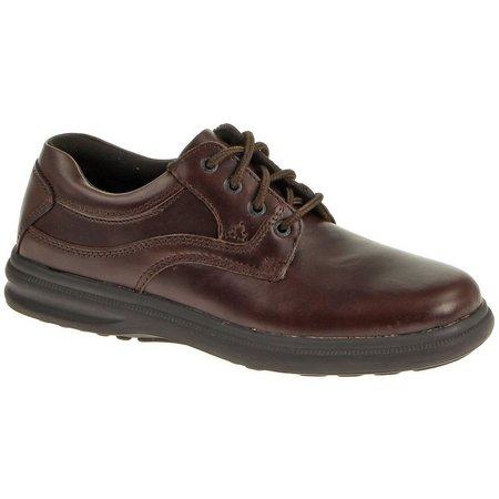 Hush Puppies Mens Glen Leather Shoes