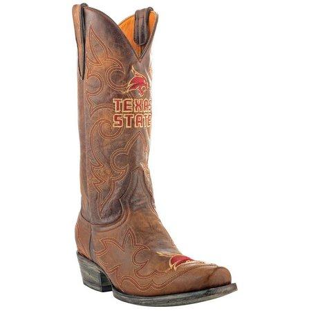 Gameday Texas State Bobcats Mens Cowboy Boots