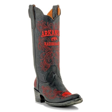 Gameday Arkansas Razorbacks Mens Cowboy Boots