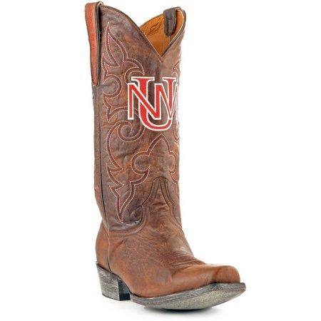 Gameday New Mexico Lobos Mens Cowboy Boots