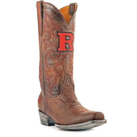 Gameday Rutgers Scarlet Knights Mens Cowboy Boots