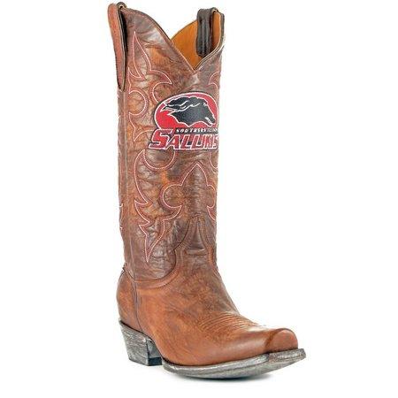 Gameday Illinois Salukis Mens Cowboy Boots