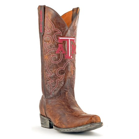 Gameday Texas A&M Aggies Mens Boardroom Boots