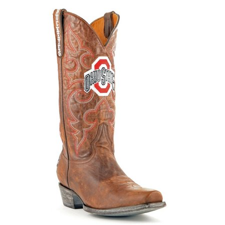 Gameday Ohio State Buckeyes Mens Boardroom Boots