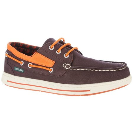 Baltimore Orioles Mens Boat Shoes by Eastland