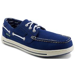 Los Angeles Dodgers Mens Boat Shoes by Eastland